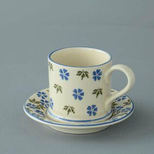 Mug & Saucer Small Geranium