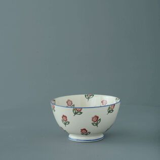 Bowl Cereal Size Scattered Rose