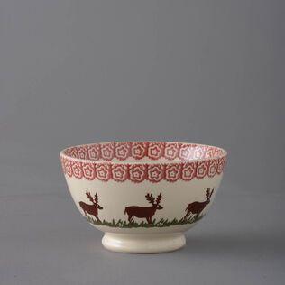 Bowl Soup Size Reindeer