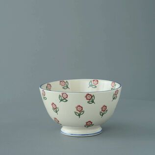 Bowl Soup Size Scattered Rose