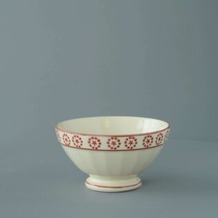Bowl Large Red Star