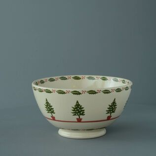 Bowl Serving Christmas Tree