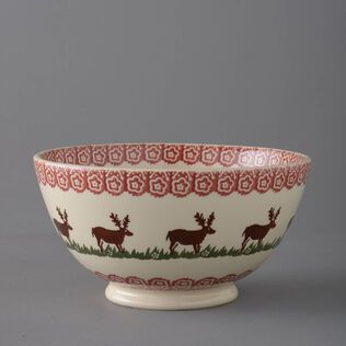 Bowl Serving Reindeer
