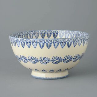 Bowl Salad Lacey Blue