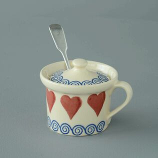 Mustard Pot Small Heart