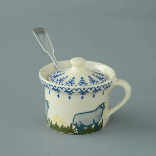 Mustard Pot Small Sheep