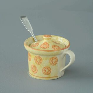Mustard Pot Small Marmalade