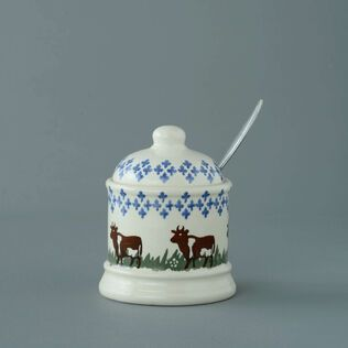 Jam Pot Small Cow