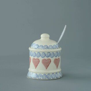 Jam Pot Small Heart