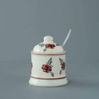 Jam Pot Small Poppy