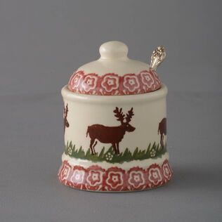 Jam Pot Small Reindeer