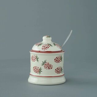 Jam Pot Small Raspberry