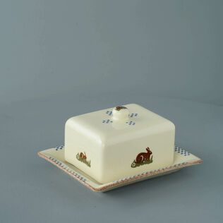 Cheese Dish Rectangular Medium Rabbit