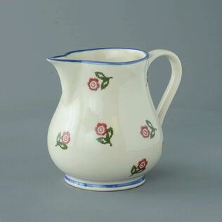 Jug Milk Scattered Rose