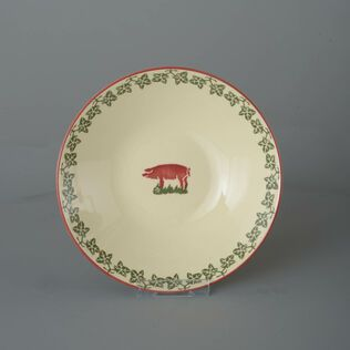 Pasta plate  Pink Pig