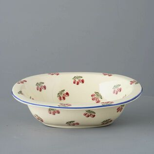 Pie Dish Large Cherry