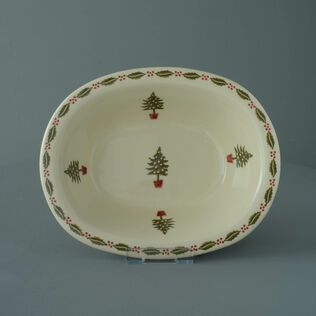 Pie Dish Large Christmas Tree
