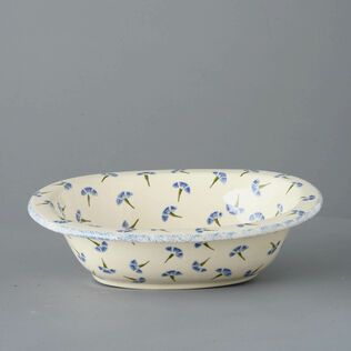 Pie Dish Large Cornflower