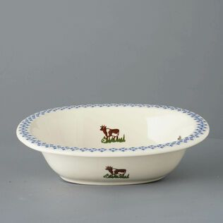 Pie Dish Large Cow