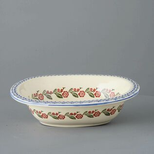 Pie Dish Large Creeping Briar