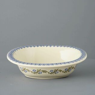 Pie Dish Large Floral Garland