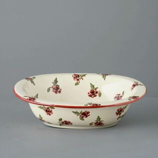 Pie Dish Large Poppy