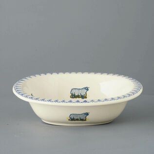 Pie Dish Large Sheep