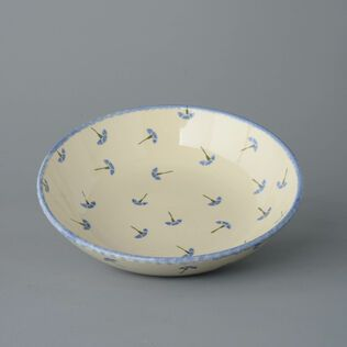 Serving Dish Round Large Cornflower