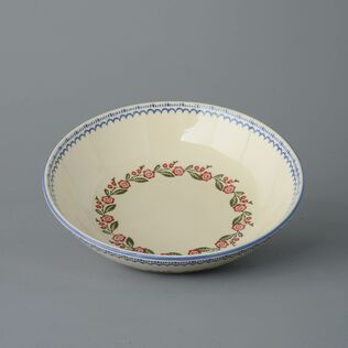 Serving Dish Round Large Creeping Briar