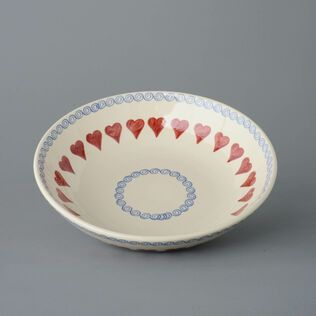 Serving Dish Round Large Heart