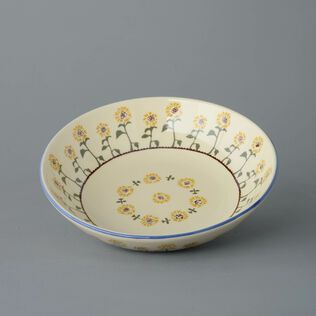 Serving Dish Round Large Sunflower