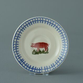 Saucer Small Farm Animal