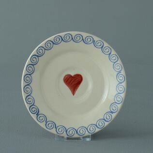 Saucer Small Heart