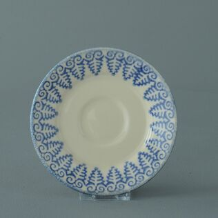 Saucer Small Lacey Blue