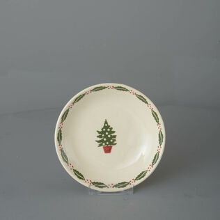 Saucer for large mug or snacks Christmas Tree