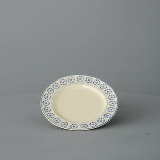 Dufort plate Small Blue Star