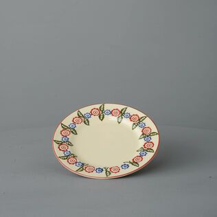 Plate Small Victorian Floral