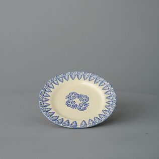 Plate Small Lacey Blue
