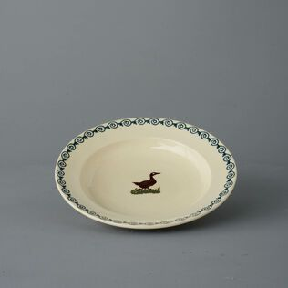 Soup Plate Medium Duck