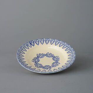 Soup Plate Medium Lacey Blue