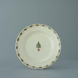Plate Dessert Size Christmas Tree