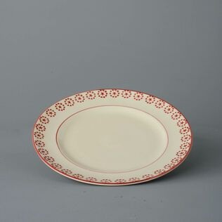 Dufort plate Dinner Size Red Star