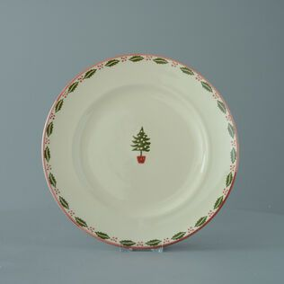 Plate Dinner Size Christmas Tree