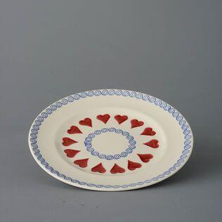 Plate Dinner Size Heart