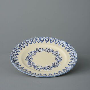 Plate Dinner Size Lacey Blue