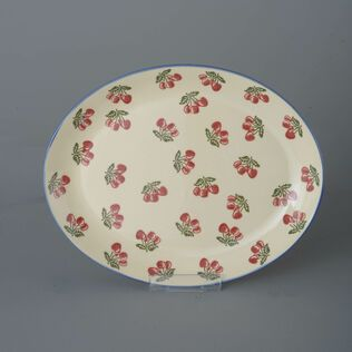 Oval Plate  Cherry