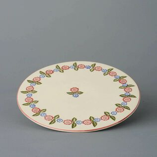 Plate Cheese & Cake Victorian Floral