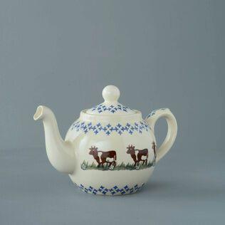 Teapot 2 Cup Cow