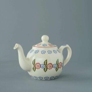 Teapot 2 Cup Victorian Floral
