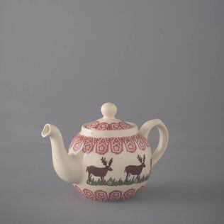 Teapot 2 Cup Reindeer